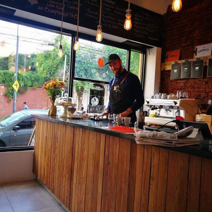 cafeteria de especialidad, Palermo Buenos Aires